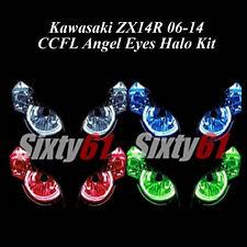 Kawasaki Ninja ZX14R 2006-2017 CCFL Demon Angel Eyes Halo lights rings kit set