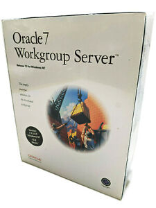Oracle7 Workgroup Server Release 7.3 for MS Windows NT 4.0 Ready 1997 New Sealed