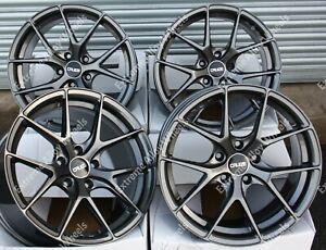 "18"" Grey GTO Alloy Wheels Fits Opel Vauxhall Vivaro Mk2 Renault Trafic 2014>"