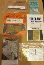 Dragon 1/35 6641 Stencils plus PE parts original  kit Extras Panther 2 cm Flak