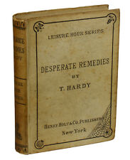 Desperate Remedies by THOMAS HARDY ~ First American Edition 1874 ~ 1st Binding