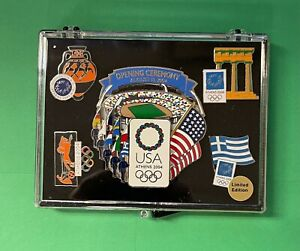 LOT OF (5) 2004 ATHENS SUMMER OLYMPICS PIN COLLECTION GREECE