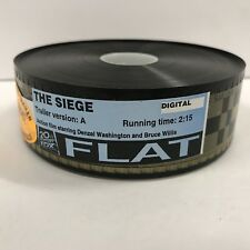 THE SIEGE, Original Used 35mm Flat Trailer [Denzel Washington, Annette Bening]