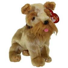 Ty Schnitzel Schnauzer Beanie Babies Dog with Mint Tags