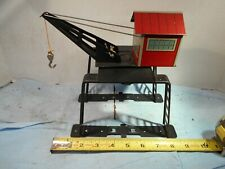 MARX- Elevated, Over the Track, Derrick Gantry Crane, Very nice Condition