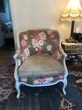 Roche Bobois Paris Haendel Armchair in Sonia Rykiel fabric Beech Wood:Best Offer