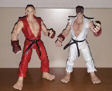 Set STREET FIGHTER action figures RYU e KEN personaggi SOTA Toys collezione RARI