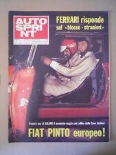 Autosprint n°44 1972 Fiat Pinto Europeo   [G593B]