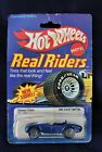 In Blister Hot Wheels Real Riders Classic Blue Cobra See Pictures Card not great