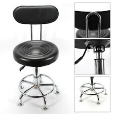 New listing Work Shop Stool Swivel Chair Adjustable Height Garage Seat with Backrest Usa