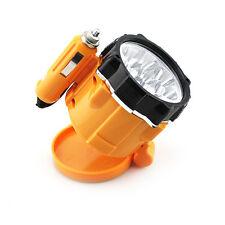 12V 7 LED Flashlight Car Auto Cigarette Lighter Magnetic Emergency Work Light HQ