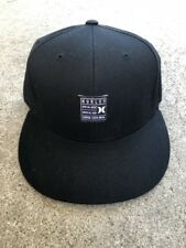NEW HURLEY BLACK SIZE SMALL MEDIUM FLEX FIT HAT