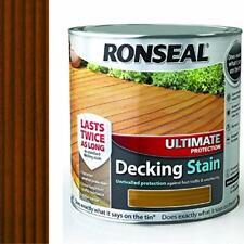 Ronseal udsrt 25L 2.5 LITRI la massima protezione Decking macchia-Teak