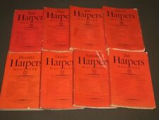 1926 HARPER'S MONTHLY MAGAZINE LOT OF 8 ISSUES - GREAT ILLUS. & ADS - WR 430D
