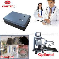 Contec8000s 12 Lead Exercise Stress Ecgekg System Wireless Machine Pc Software