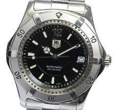 TAG HEUER Classic 2000 WK2118-0 Black Dial Automatic Men's Watch_560246