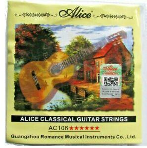 Hard Tension Classical Guitar Strings Clear Nylon