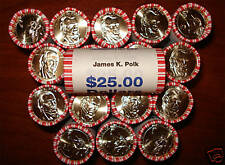 2009 James Polk Presidential $1 ROLL(25)