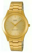 Casio MTP1128N-9A Men's Analog Gold Tone Stainless Steel Gold Dial Dress Watch