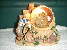 Fontanini Musical Lighted Glitter Water Dome Holy Family 3 Kings