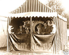 Win A Teddy Bear Booth Michigan County Fair Vintage Teddy Bears Spinning Wheel