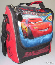 Disney Cars Car  Back Pack  School Bag Backpack Medium Lunch box  8 x 9   NWT