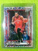 KAWHI LEONARD PRIZM CARD JERSEY #2 RAPTORS REFRACTOR SP /99 National VIP 2019 SP
