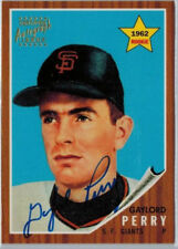 1997 Topps Stars RC Reprint Auto GAYLORD PERRY Autograph