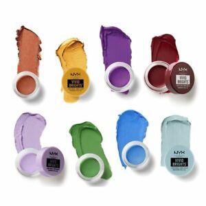 NYX Vivid Brights Creme Colour Eyeshadow - CHOOSE SHADE - NEW Sealed