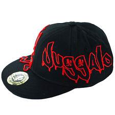 Insane Clown Posse Hatchet Man Flex Fit Juggola Hip Hop Black and Red Hat