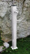 BONFANTE Fontanella Punto Acqua quadrato metallo TAVOLOZZA Bianco verniciato