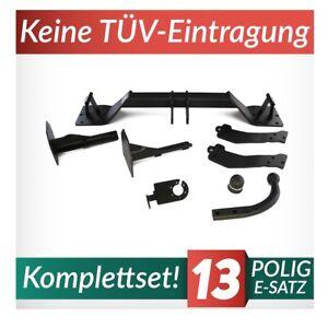 Für BMW X5 E53 00-07 Kpl. Anhängerkupplung starr+E-Satz 13p