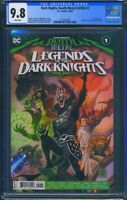 Dark Nights Death Metal Legends of the Dark Knights 1 CGC 9.8 1st app Robin King