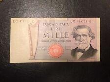 BANCONOTA 1000 lire VERDI 2° TIPO  10/01/1977   QUASI FDS NON CIRCOLATO