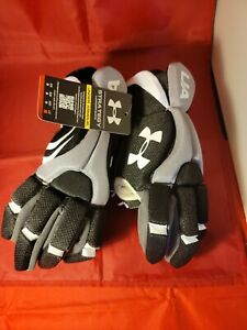 Under Armour Strategy Youth Lacrosse Gloves, Size Large