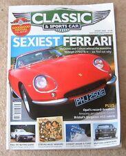 Classic & Sports Car Mag: Aug 2005 - Mustang E Type Costin Ferrari 275GTB Merc