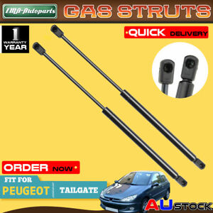 One Pair For Peugeot 206 CC 2001-2007 Rear Tailgate Gas Strut 8731F2 Convertible