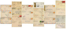 WW2 MILITARY MAIL..USA ARMY EUROPE OFFICES CENSORED RED CROSS etc.Each Priced