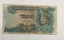 MALAYSIA RM50 5TH AZIZ TAHA VB6607583 F