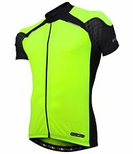 FUNKIER Gents SS Jersey J730-1 Color Yellow - REF   Mens  Size: L  RRP $69  New