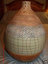 """Imax Worldwide 13""""H 10""""W African Design Decorative Vase #54004"""