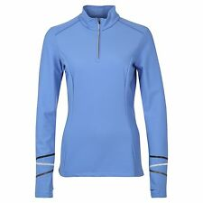 Gore Running Wear Mythos Blue Thermo Gym Womens Shirt - RRP £74.99 NEW