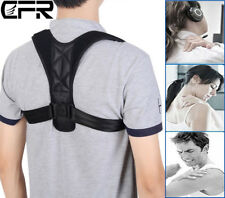 Adjustable Shoulder Back Brace Belt Posture Corrector Back Support Men & Women