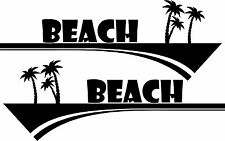 Motorhome Caravan Beach Surf Car Van Window Vinyl Graphics/sticker/decal
