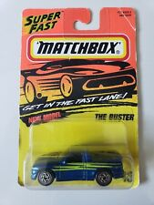 MATCHBOX THE BUSTER #13 ACTION SYSTEM DIECAST 1:64 SCALE BRAND NEW MINT ON CARD