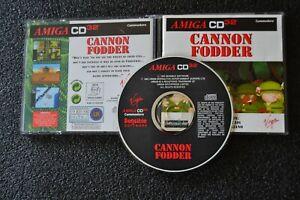 Amiga CD32  -- Cannon Fodder