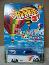 HOT WHEELS  1999 NATIONAL BALLOON RALLY   DAIRY DELIVERY SPECIAL ED. REAL RIDERS