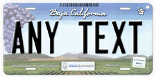Baja California Mexico Any Text Personalized Novelty Auto Car License Plate C06