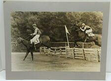 1973 Horse Race Fair Hill Races Maryland Photograph Douglas Lee of Warrenton VA
