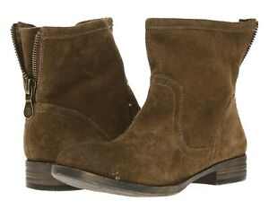 Me Too Womens 'Rae' Brown Suede Ankle Short Boots Shoes Size 9 M